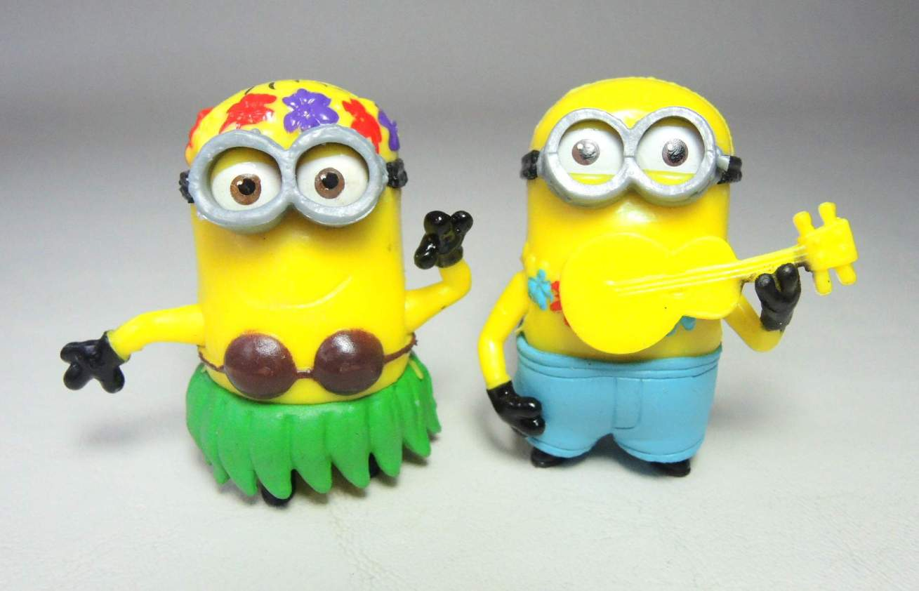 Despicable Me 2 inch Minion figurines - Luau Minions China, Despicable Me, Action Figures, 2015, animated, movie