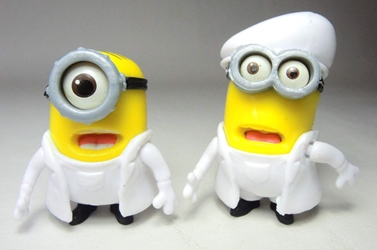 Despicable Me 2 inch Minion figurines - Lab Minions China, Despicable Me, Action Figures, 2015, animated, movie