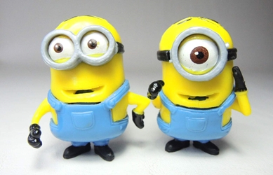 Despicable Me 2 inch Minion figurines - Worker minions China, Despicable Me, Action Figures, 2015, animated, movie