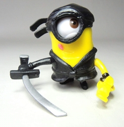 Despicable Me 2 inch Minion figurine - Ninja minion China, Despicable Me, Action Figures, 2015, animated, movie