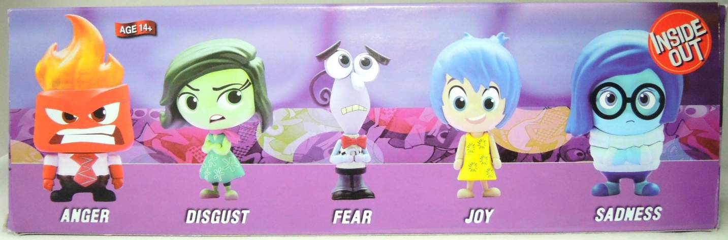 Inside Out - boxed set of 5 Figures China, Inside Out, Action Figures, 2015, kidfare, cartoon