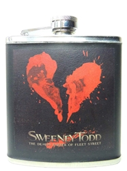 NECA Sweeney Todd Decorative Pocket Flask NECA, Sweeney Todd, Horror, 2007, horror, halloween, movie