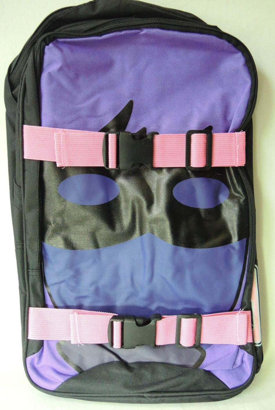 NECA Kick-Ass Hit Girl Double Buckle Backpack NECA, Kick-Ass, Cosplay, 2013|Color~black|Color~yellow, action, movie