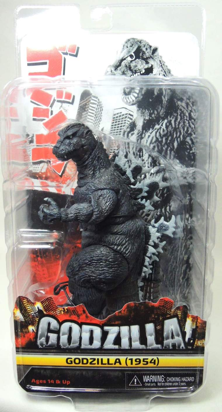 NECA Godzilla 12 inch head-to-tail Classic 1954 Godzilla NECA, Godzilla, Action Figures, 2015, scifi, movie