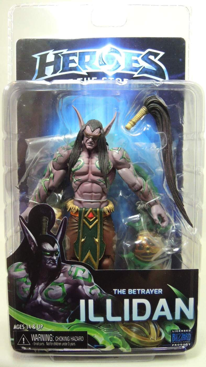 NECA Heroes of the Storm Figure - Illidan The Betrayer