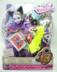 Ever After High Way to Wonderland - Kitty Cheshire doll Mattel, Ever After High, Dolls, 2014, fantasy