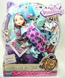 Ever After High Way to Wonderland - Madeline Hatter doll Mattel, Ever After High, Dolls, 2014, fantasy