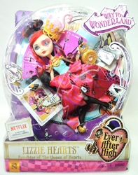 Ever After High Way to Wonderland - Lizzie Hearts doll Mattel, Ever After High, Dolls, 2014, fantasy
