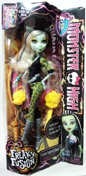 Monster High Freaky Fusion Frankie Stein Doll Mattel, Monster High, Dolls, 2013, teen, fashion, movie