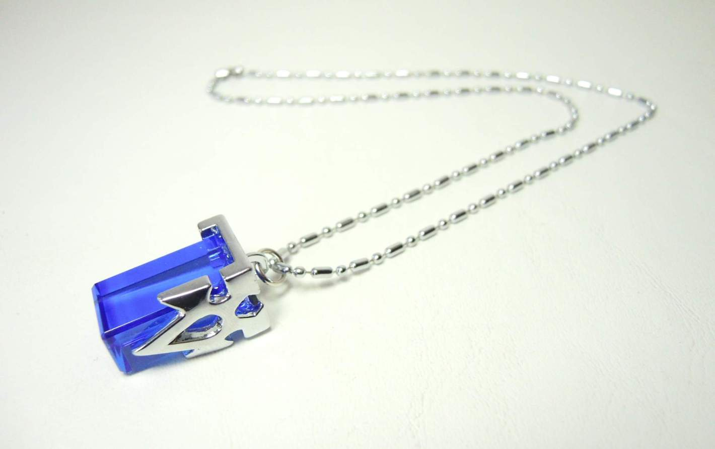 Sword Art Online Blue Teleport Crystal pendant necklace China, Sword Art Online, Necklace, 2015|Color~blue|Color~silver, scifi, japan