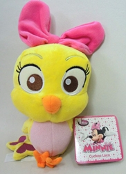 Disney  Minnies Bow-Toons 7 inch plush - Cuckoo Loca Disney, Minnies Bow-Toons, Plush, 2015|Color~yellow, kidfare, cartoon