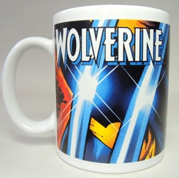 Marvel superhero ceramic mug - Wolverine NECA, Marvel, Mug, 2002, superhero, comic book