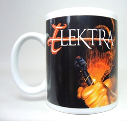 Marvel superhero ceramic mug - Elektra NECA, Marvel, Mug, 2002, superhero, comic book