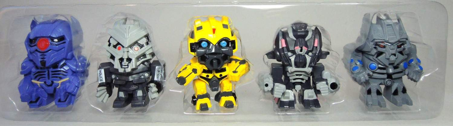 Transformers 5-pack of cute SD mini figures China, Transformers, Action Figures, 2015, scifi, movie