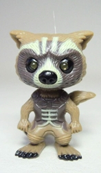Guardians of the galaxy Light-up Keychain - Rocket Raccoon China, Guardians of the Galaxy, Keychains, 2015|Color~brown, scifi, movie