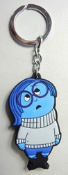 Inside Out soft plastic keychain - Sadness (blue) China, Inside Out, Keychains, 2015|Color~steel, kidfare, cartoon