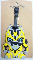 Transformers Bumblebee Luggage Tag China, Transformers, Luggage Tag, 2015|Color~yellow, scifi, movie