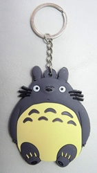 My Neighbor Totoro soft plastic keychain China, My Neighbor Totoro, Keychains, 2015|Color~grey|Color~cream, anime