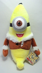 Despicable Me 12 inch plush - One-eyed Banana Minion China, Despicable Me, Plush, 2015, animated, movie
