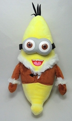 Despicable Me 12 inch plush - Two-eyed Banana Minion China, Despicable Me, Plush, 2015, animated, movie