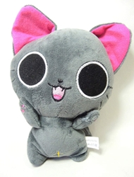 The Gothic World of Nyanpire - 7 inch plush Nyanpire (grey cat) China, The Gothic World of Nyanpire, Plush, 2015, anime