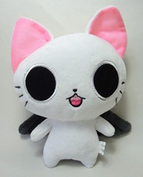 The Gothic World of Nyanpire - 7 inch plush Masamunya (white cat) China, The Gothic World of Nyanpire, Plush, 2015, anime