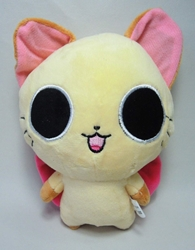 The Gothic World of Nyanpire - 7 inch plush Chachamaru (tan cat) China, The Gothic World of Nyanpire, Plush, 2015, anime