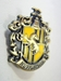 Harry Potter metal alloy pin - Hufflepuff House Crest - 10329-10284CCCVFG