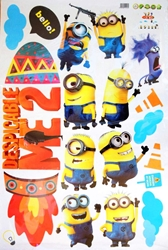 Despicable Me - Sheet of wall stickers - 35x24 inch China, Despicable Me, Preschool, 2015, animated, movie