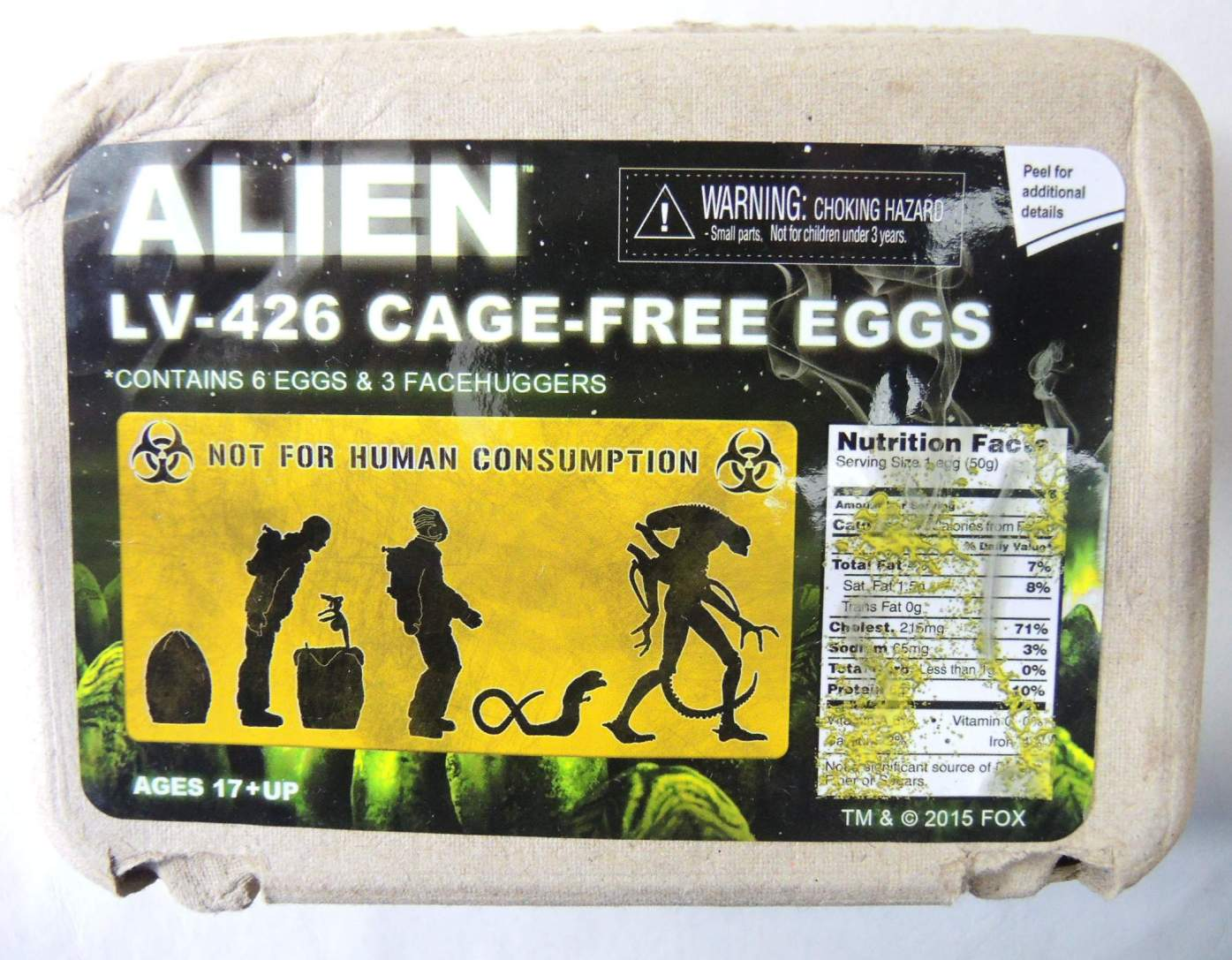 NECA Alien LV-426 Cage-Free Eggs NECA, Alien, Action Figures, 2015, scifi, movie