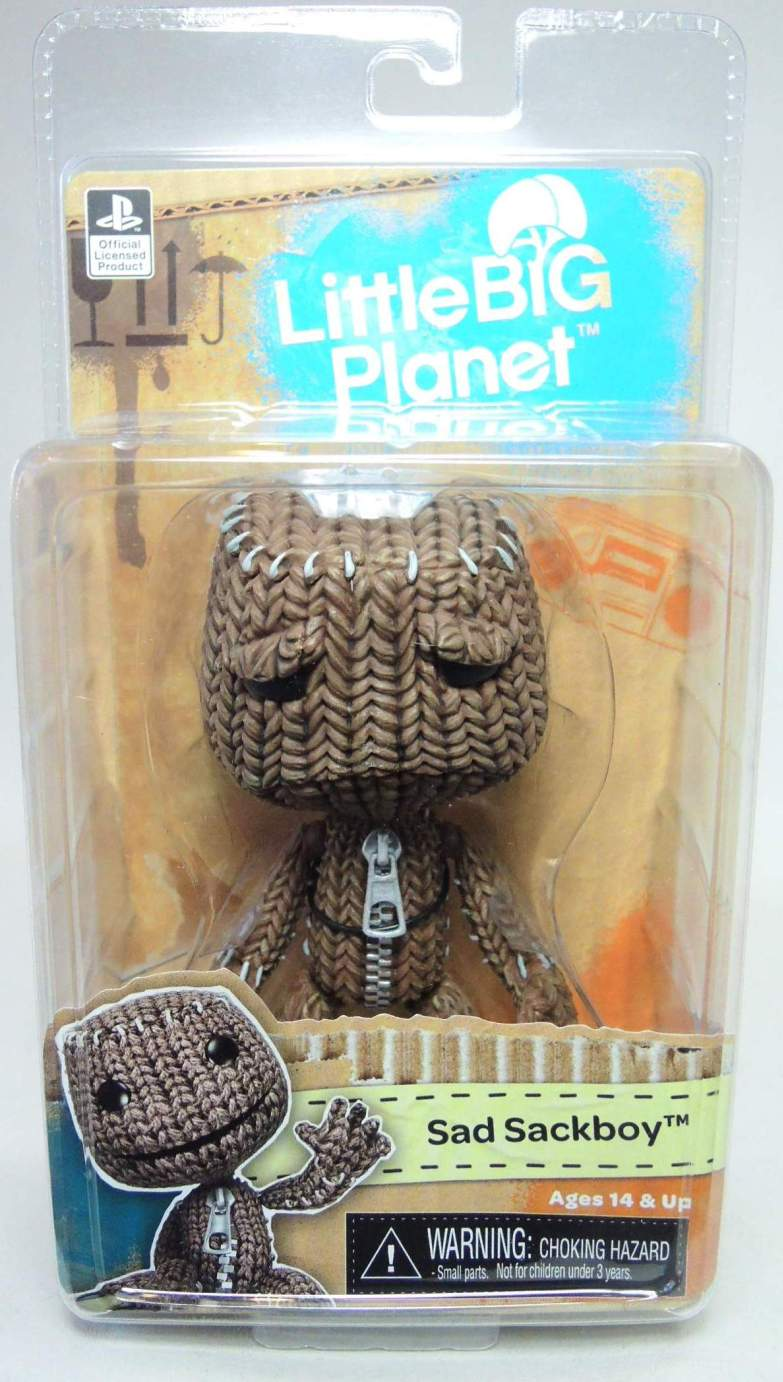 NECA Little Big Planet 5 inch figure - Kratos Sackboy