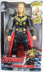 Avengers Age of Ultron Titan Hero Tech 12 inch Thor Hasbro, Avengers, Action Figures, 2015, superhero, comic book