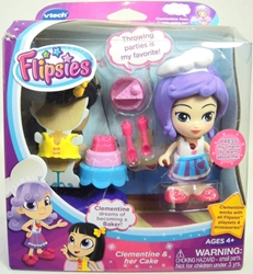 Vtech Flipsies 3.5 inch figure - Clementine & her Cake Vtech, Flipsies, Dolls, 2015, family
