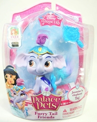 Palace Pets Furry Tail Friends - Jasmines Elephant Taj Blip Toys, Disney, Littlest Pet Shop, 2014, fantasy, movie