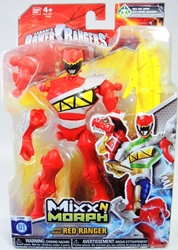 Power Rangers Mix N Morph Figure - Dino Charge Red Ranger Bandai, Power Rangers, Action Figures, 2015, scifi, tv show