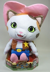 Sheriff Callies Wild West 12 inch plush - Sheriff Callie Just Play, Sheriff Callies Wild West, Plush, 2015, animated