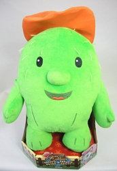 Sheriff Callies Wild West 12 inch plush - Toby (the cactus) Just Play, Sheriff Callies Wild West, Plush, 2015, animated