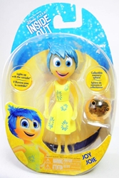 Disney Pixar Inside Out - Joy figure Tomy, Inside Out, Action Figures, 2015, kidfare, cartoon