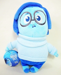 Disney Pixar Inside Out - Plush Sadness Tomy, Inside Out, Plush, 2015, kidfare, cartoon