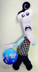 Disney Pixar Inside Out - Plush Fear Tomy, Inside Out, Plush, 2015, kidfare, cartoon