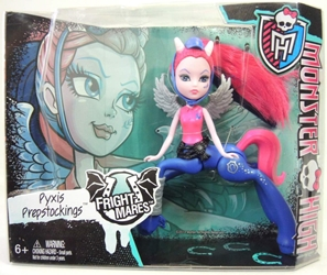 Monster High Fright-Mares - Pyxis Prepstockings figure Mattel, Monster High, Dolls, 2014, teen, fashion, movie