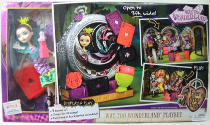 Ever After High - Way Too Wonderland Playset with Raven Queen doll Mattel, Ever After High, Dolls, 2014, fantasy