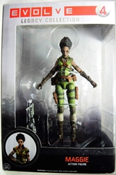 Funko Legacy Collection Evolve figure - Maggie Funko, Evolve, Action Figures, 2014, scifi, video game