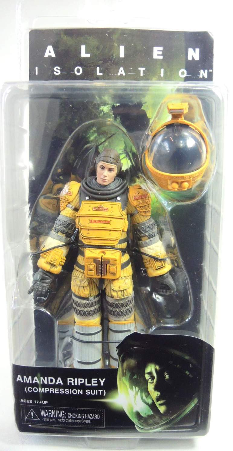 NECA Aliens Series 6 Figure - Amanda Ripley (Compression Suit)
