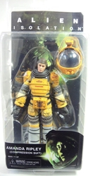 NECA Aliens Series 6 Figure - Amanda Ripley (Compression Suit) NECA, Alien, Action Figures, 2015, scifi, movie