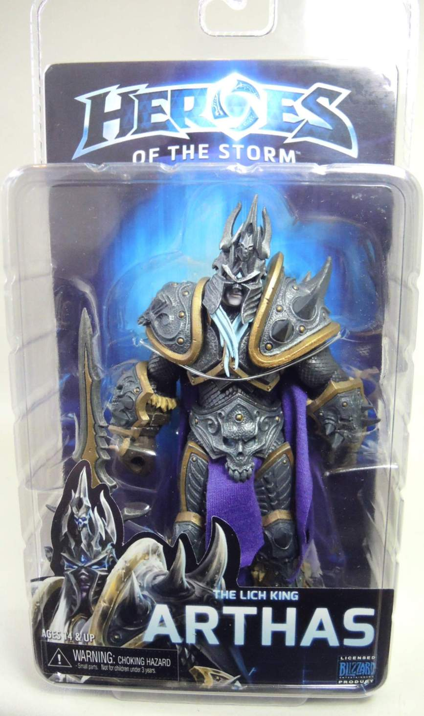 NECA Heroes of the Storm Figure - Arthas The Lich King