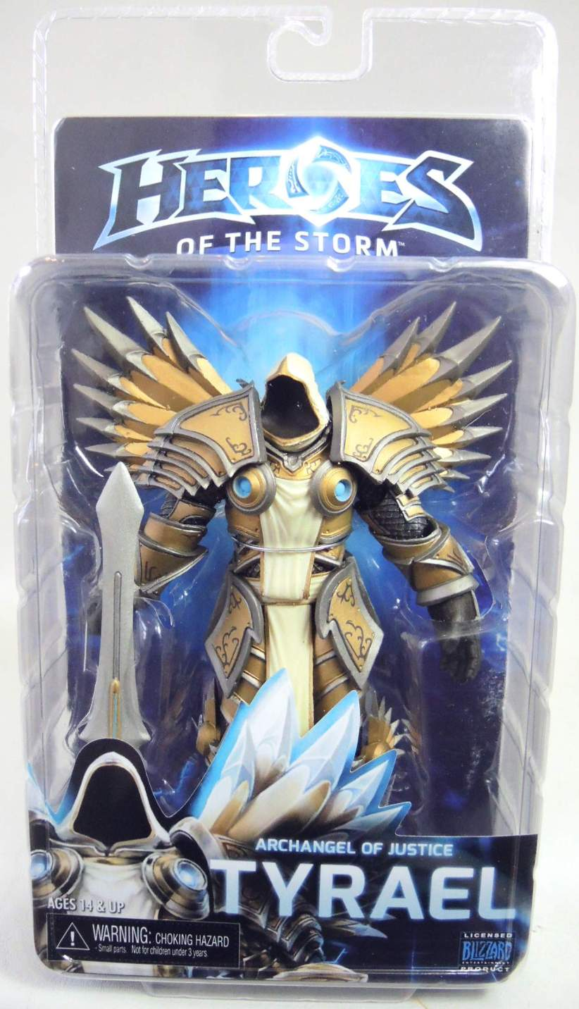 NECA Heroes of the Storm Figure - Tyrael Archangel of Justice