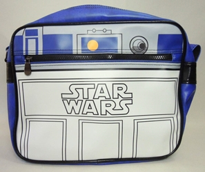 Star Wars R2-D2 pleather shoulder bag China, Star Wars, Cosplay, 2016|Color~white|Color~blue, scifi, movie