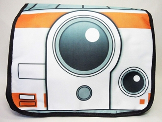Star Wars BB-8 shoulder bag China, Star Wars, Cosplay, 2016|Color~white|Color~blue, scifi, movie