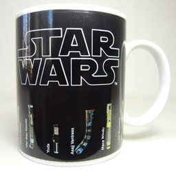 Star Wars Mug with lightsaber museum with color-change feature China, Star Wars, Mug, 2016|Color~black, scifi, movie